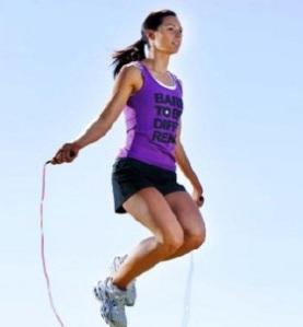 diet, langsing, skipping melangsingkan tubuh